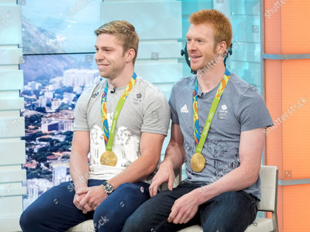 Phil Hindes and Ed Clancy