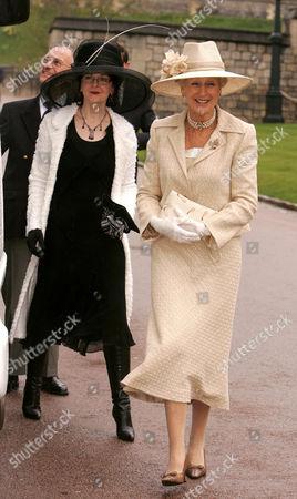 Marina Ogilvy and Princess Alexander