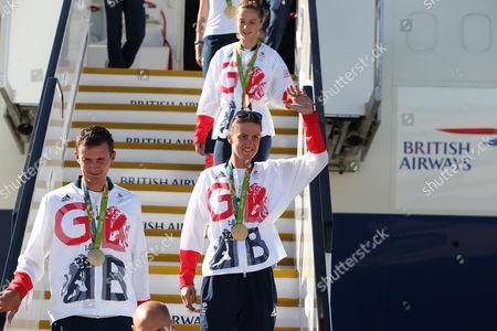 Editorial image of Rio 2016 Olympic Games Team GB Homecoming Heathrow Airport, London, United Kingdom - 23 Aug 2016