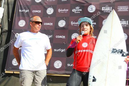 Overall winner Claire Bevilacqua from Australia