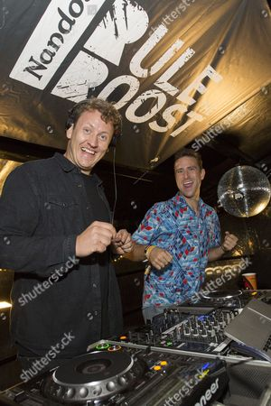 Stock Image of Maribou State and Jackmaster B2B