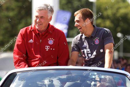 Guus Hiddink and Philipp Lahm