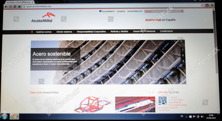 website of ArcelorMittal