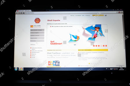 website of Shell España