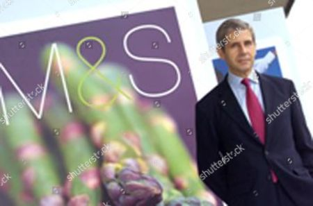 Stock Image of Sir Stuart Rose, Chairman and ex CEO of Marks and Spencer.