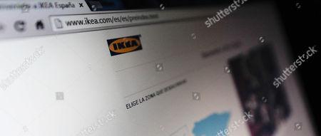 The website of IKEA