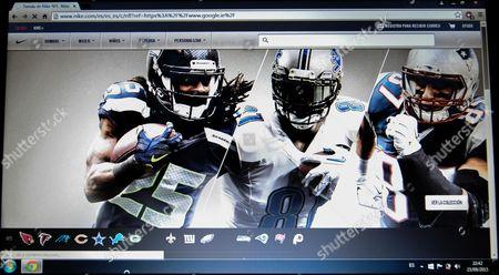 website of Nike