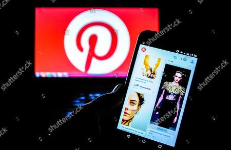 the website of Pinterest
