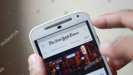 The application of TheNewYorkTimes