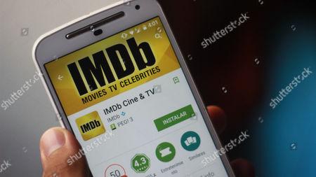 The application of IMDb Cine & TV