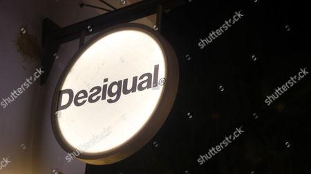 Stock Photo of Clothes shop Desigual