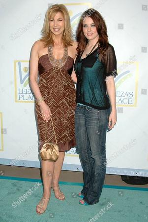 Leeza Gibbons and Anna Nalick