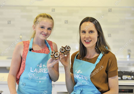 14-year-old Lauren Foster and Frances Quinn