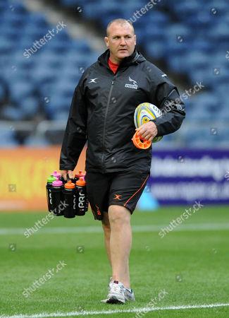 Micky Ward - Newcastle Falcons forwards coach. Edinburgh Rugby v Newcastle Falcons, pre-season friendly, Murrayfield Stadium, Edinburgh, Scotland, Friday 26 August 2019. ***Please credit: David Gibson/Fotosport***