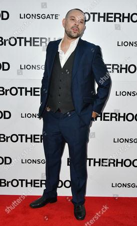 Editorial photo of 'Brotherhood' film premiere, London, UK - 23 Aug 2016