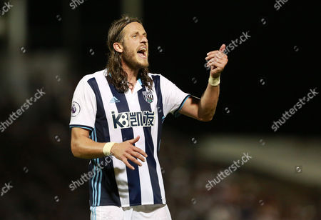 West Bromwich Albion's Jonas Olsson during the EFL Cup second Round match between Northampton Town and West Bromwich Albion played at Sixfields Stadium, Northampton on 23rd August 2016