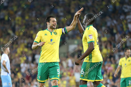 Editorial photo of Norwich City v Coventry City. EFL Cup 2nd Round. Football. Carrow Road, Norwich, Britain. 23 AUG 2016