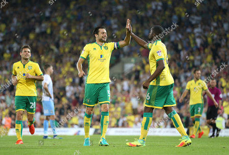 Editorial picture of Norwich City v Coventry City. EFL Cup 2nd Round. Football. Carrow Road, Norwich, Britain. 23 AUG 2016