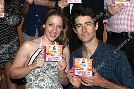 Editorial image of 'Waitress' Broadway musical cast at Barnes & Noble, New York, USA - 23 Aug 2016
