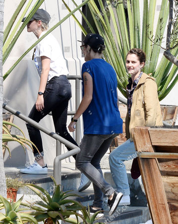 Editorial photo of Kristen Stewart and Alicia Cargile out and about, Los Angeles, USA - 23 Aug 2016