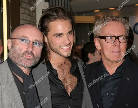 Phil Collins, Josh Strickland and Bob Crowley