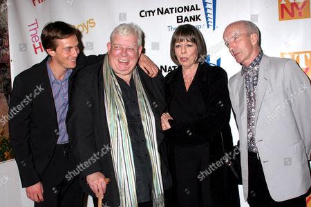 Stephen Campbell Moore, Richard Griffiths, Frances de la Tour and Clive Merrison