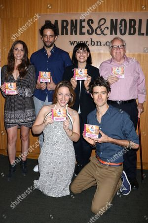 Editorial picture of 'Waitress' Broadway musical cast at Barnes & Noble, New York, USA - 23 Aug 2016