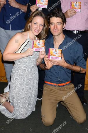 Stock Image of Jessie Mueller and Drew Gehling