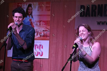 Stock Picture of Drew Gehling and Jessie Mueller