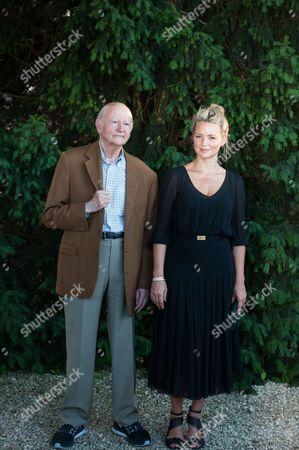 Gilles Jacob and Virginie Efira