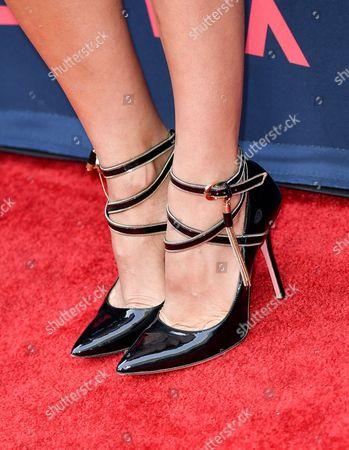 Cristina Umana, shoe detail