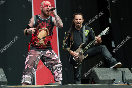 Five Finger Death Punch - Ivan Moody, Zoltan Bathory