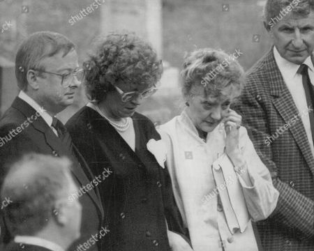 Actress Thelma Barlow Sheds A Tear At The Funeral Of Tv Presenter Russell Harty. Box 699 1140716276 A.jpg.