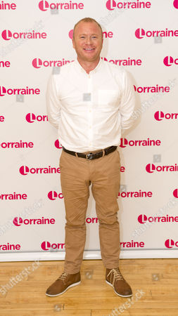 Editorial picture of 'Lorraine' TV show, London, UK - 25 Aug 2016