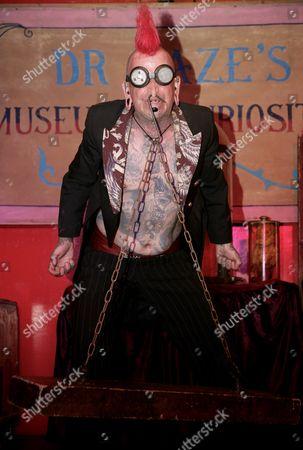 Hannibal Helmurto performing at the 48th Great Dorset Steam Fair
