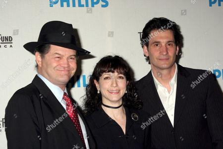 Stock Photo of Micky Dolenz, Bebe Neuwirth and Robert Funaro