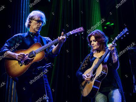 Editorial image of Roseanne Cash in concert at Nalen, Stockholm, Sweden - 24 Aug 2016
