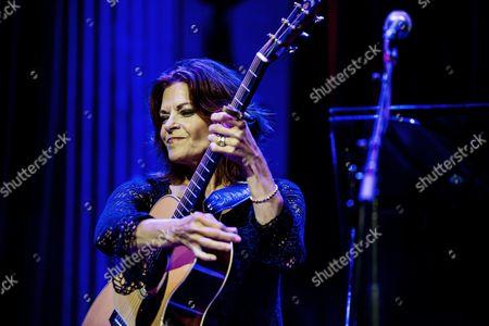 Editorial photo of Roseanne Cash in concert at Nalen, Stockholm, Sweden - 24 Aug 2016