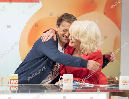 Paul Nicholls and Sherrie Hewson