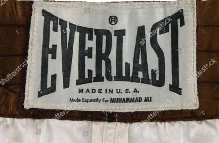 Muhammad Ali's trunks from the legendary 'Rumble in the Jungle' against George Foreman