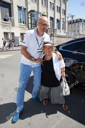 Mimie Mathy and Benoit Gerard