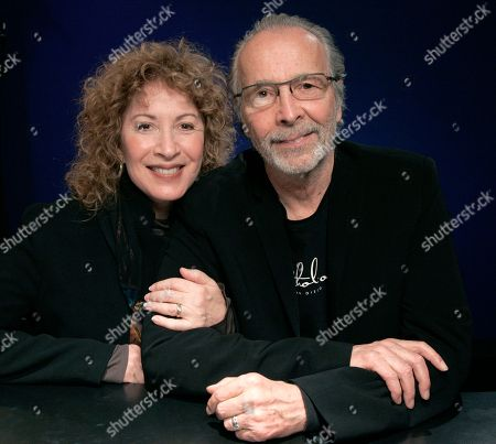 In this Feb. 22, 2011 file photo, recording artist Herb Alpert and his wife singer Lani Hall pose for a portrait in New York. Alpert's foundation has given $10.1 million to endow music education at Los Angeles City College.