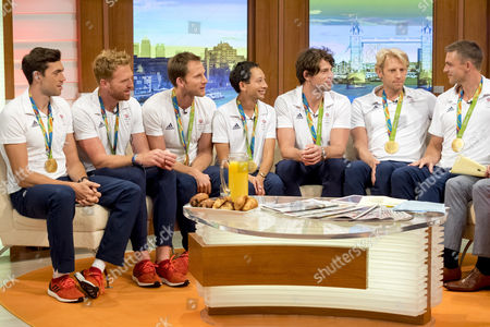 Matt Gotrel, Will Satch, Matt Langridge, Phelan Hill, Tom Ransley, Andrew Hodge, Pete Reed