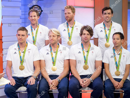 Stock Image of Matt Langridge, Will Satch, Matt Gotrel, Pete Reed, Andrew Hodge, Tom Ransley, Phelan Hill