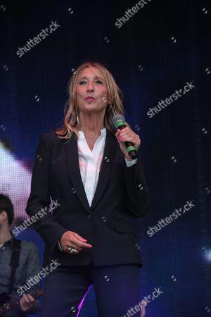 Claudia Brucken of Visage