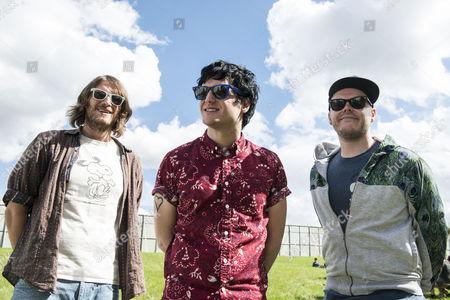Stock Picture of TheVirginMarys - Ally Dickaty, Danny Dolan, Matt Rose