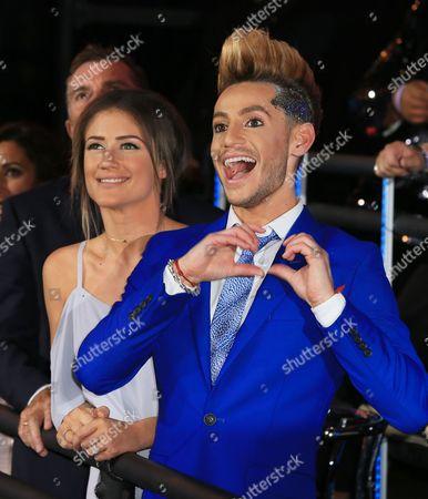 Katie Waissel and Frankie Grande