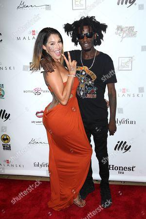 Stock Picture of Raquel Santiago and Puma Robinson