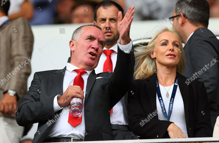 Liverpool chief executive Ian Ayre during the Premier League match between Tottenham Hotspur and Liverpool played at White Hart Lane, London on 27th August 2016