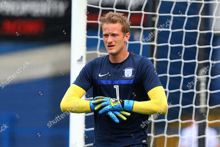 Anders Lindegaard of Preston North End during Ipswich Town vs Preston North End, Sky Bet EFL Championship Football at Portman Road on 27th August 2016